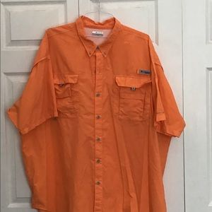 4X Columbia PFG fishing shirt